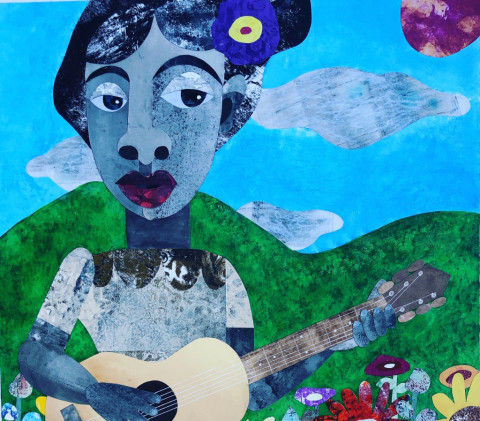 My Music is My Truth, 2020 - Evita Tezeno | Framed Gallery